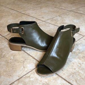 Lightly worn TopShop mules